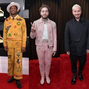 Ngắm nhìn thời trang thảm đỏ ấn tượng của các sao nam tại Grammy 2019