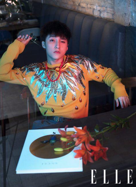 Sơn Tùng là một trong những fashionisto tiên phong sử dụng đồ Gucci ở Việt Nam. Ảnh: ELLE Man Việt Nam
