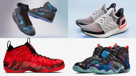 5 thiết kế giày thể thao ấn tượng tuần 3 tháng 2/2019