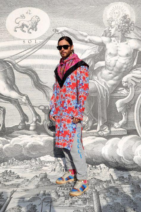 Jared Leto với outfit nổi bật trong top thời trang sao nam của tuần cuối tháng 2. Ảnh: Vogue