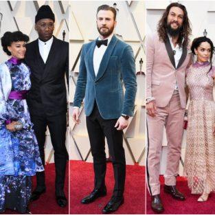 """Mãn nhãn trước """"đại tiệc"""" thời trang thảm đỏ của các sao nam tại Oscar 2019"""