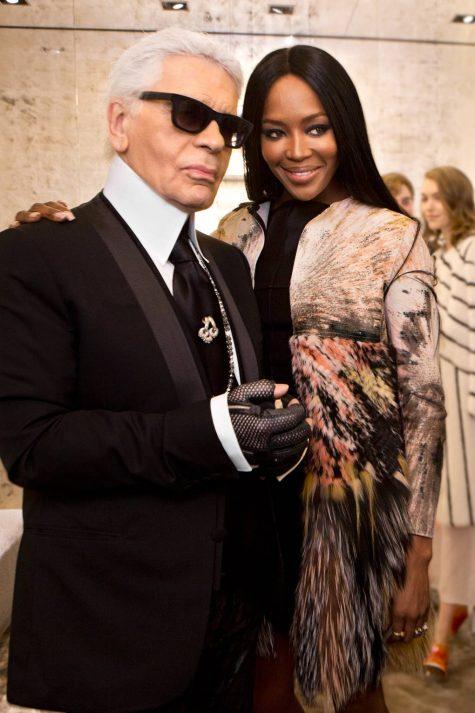 Nhiều ngôi sao thế giới đồng loạt chia buồn trên instagram cá nhân, như siêu mẫu Naomi Campbell, Gigi Hadid, Donatella Versace. Victoria Beckham. Ảnh: Vogue Uk