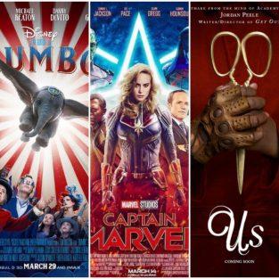 Phim chiếu rạp tháng 03/2019: Captain Marvel đổ bộ