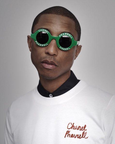 Hình ảnh mới nhất về bộ sưu tập của Chanel x Pharrell là tin tức thời trang đáng chú ý trong tháng 2. Ảnh: Instagram @pharrell