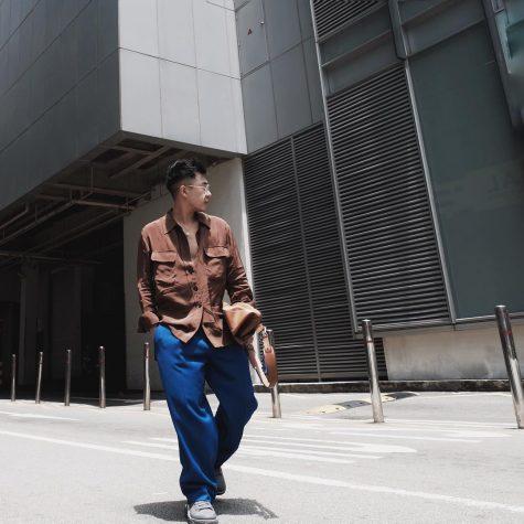 Hoàng Ku xuất hiện trong outfit nhẹ nhàng thanh thoát nhưng vẫn trẻ trung. Ảnh: Instagram @hoangku