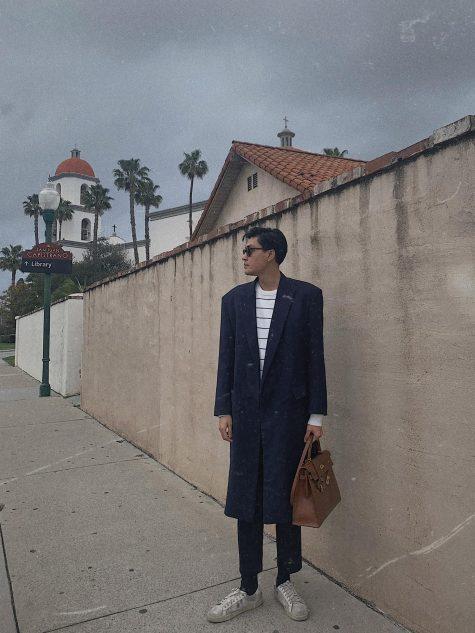 Quang Đại dường như vẫn trung thành với phong cách smart-casua; quen thuộc. Ảnh: Instagram @tranquangdai