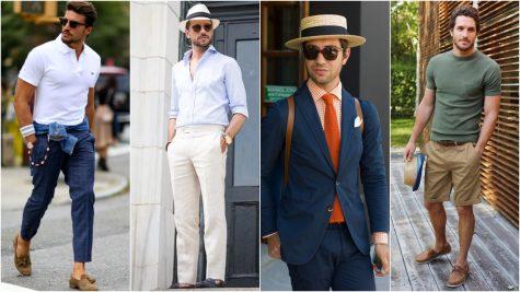 Bỏ túi những gợi ý phối trang phục mùa Hè cho nam giới