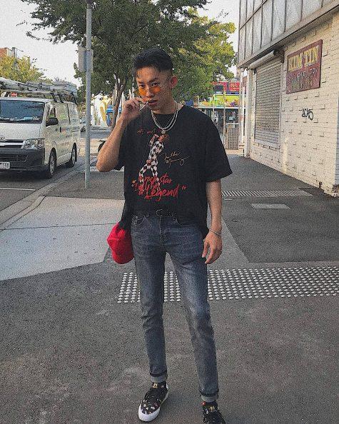 Kay Trần lần đầu tiên góp mặt trong top thời trang sao nam của ELLE Man ở vị trí thứ 8. Ảnh: Facebook Kay Trần