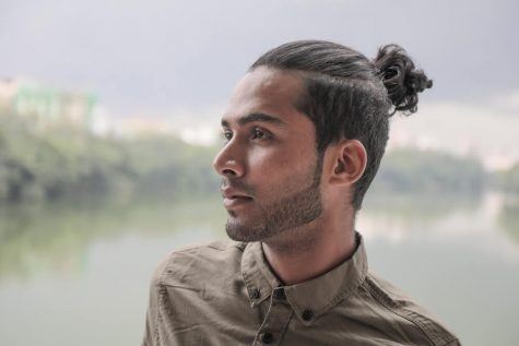 kieu toc man bun elle man 2