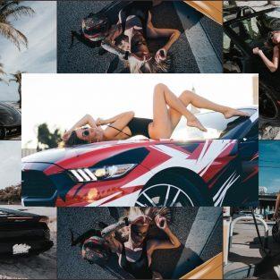 Loạt ảnh mỹ nhân Miami cạnh siêu xe hạng sang của nhiếp ảnh gia Alex Yaro