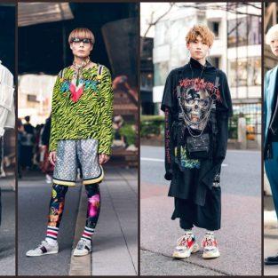 Buổi dạ tiệc đường phố dị biệt ở Tuần lễ thời trang Tokyo