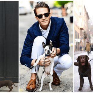 6 phong cách đường phố dạo mát cùng cún cưng