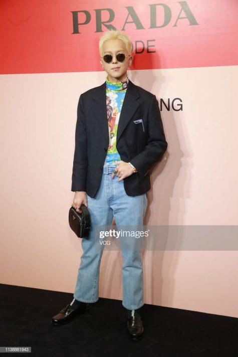 """Mino tiếp tục chứng tỏ sức hút của túi xách với nam giới trong xu hướng """"unisex"""". Ảnh: Getty Images"""