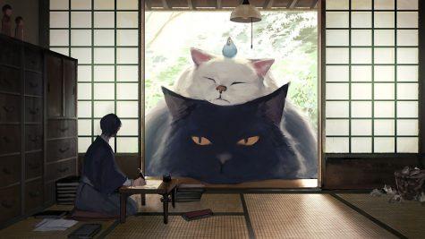 Bộ ảnh đẹp về cuộc sống với thú cưng khổng lồ trong văn hóa dân gian Nhật Bản