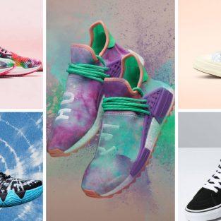 6 thiết kế giày thể thao Tie-dye đình đám hiện nay