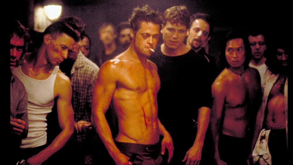 Tập thể hình như Brad Pitt 3