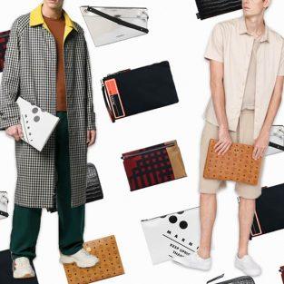 10 thiết kế ví cầm tay nam đáng chú ý nửa đầu 2019