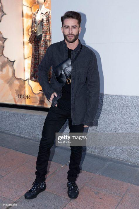 Pelayo Díaz với outfit nam tính nhưng vẫn mang hơi thở xu hướng. Ảnh: Getty Images