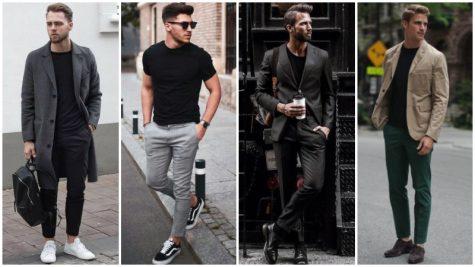 Áo thun đen & 5 biến tấu thú vị trong phong cách