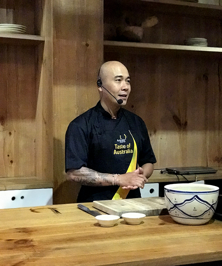 taste of australia 2019 - dau bep tran thanh hoa - elle man 3