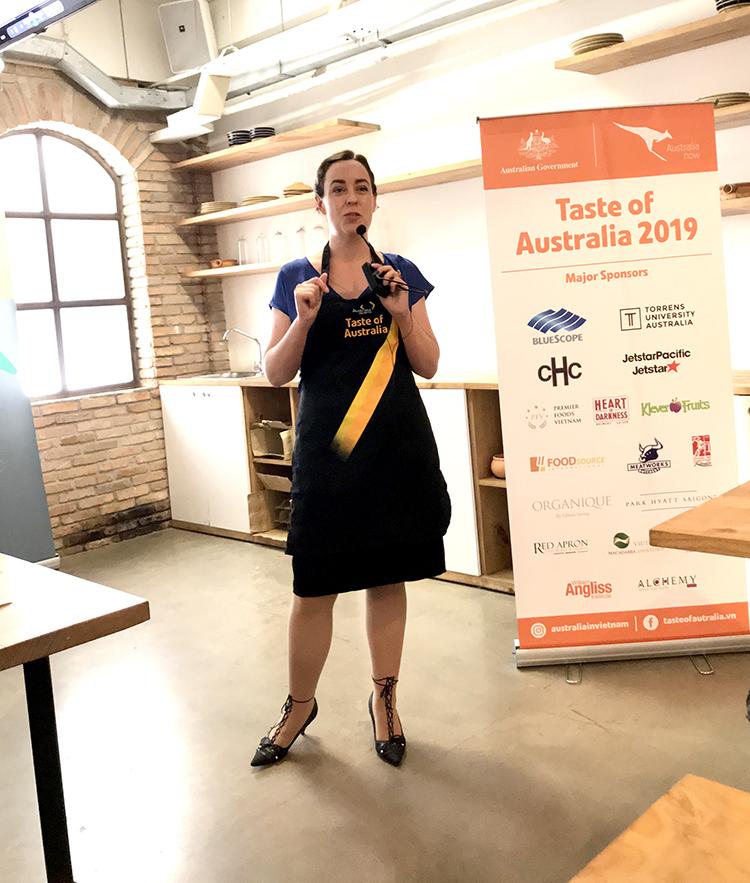 taste of australia 2019 - tong lanh su Australia Julianne Cowley - elle man 3