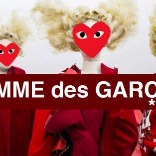 Ý nghĩa logo thương hiệu – Phần 19: Comme des Garçons