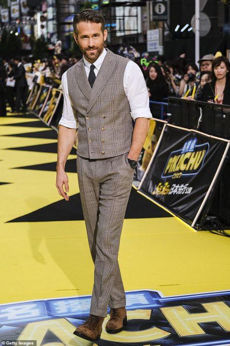 Ryan Reynolds tạo nên sự phá cách với outfit sự kiện. Ảnh: Getty Images
