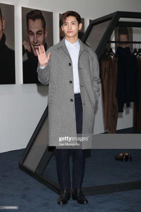 Changmin lần đầu xuất hiện trong top sao nam mặc đẹp của ELLE Man. Ảnh: Getty Images
