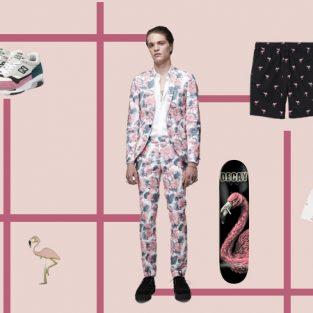 ELLE Man Style Calendar: Đổi gió Hè cùng hoạ tiết Flamingo