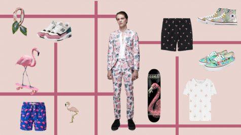 ELLE Man Style Calendar: Thổi làn gió mới vào tủ đồ Hè cùng hoạ tiết Flamingo