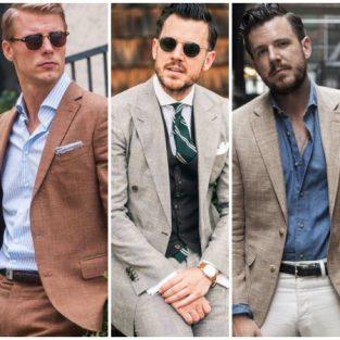 Gợi ý phối đồ tuyệt vời cho suit nam linen của ngày Hè