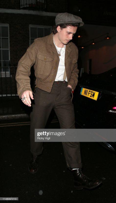 Brooklyn Beckham vẫn trugn thành với phong cách cổ điển trong thời gian gần đây. Ảnh: Getty Images