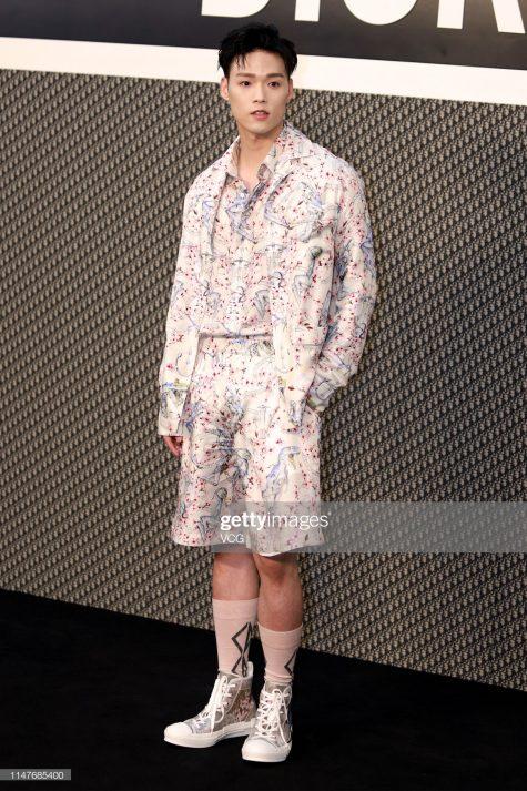 Đổng Hựu Lâm lần đầu tiên góp mặt trong top thời trang sao nam của ELLE Man. Ảnh: Getty Images