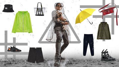 ELLE Man Style Calendar: Cách phối đồ cho những ngày mưa