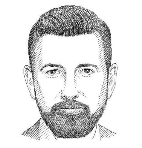 Hình dáng khuôn mặt trái xoan cùng kiểu râu phù hợp
