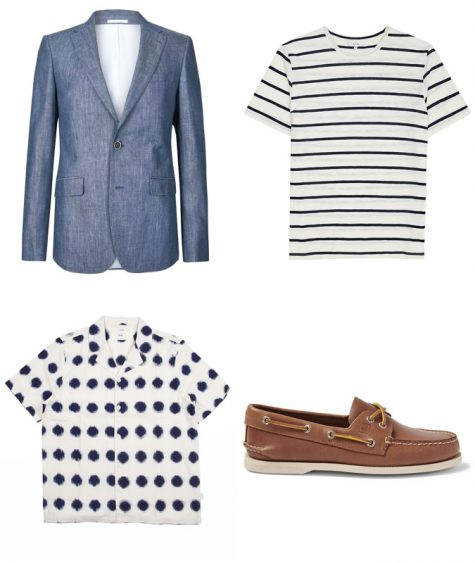 cách phối suit xanh navy cho ngày cuối tuần vui vẻ