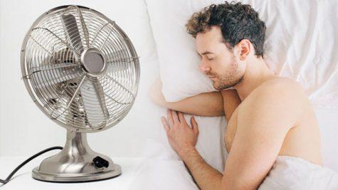 Ngủ đêm với quạt điện có thật sự là thói quen xấu?
