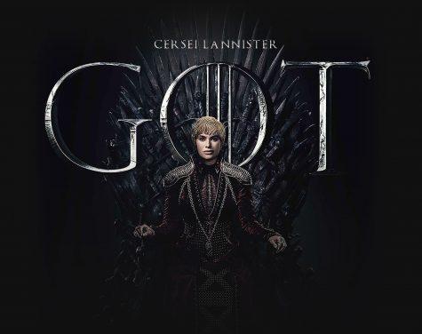 trò chơi vương quyền cersei lannister ngồi trên ngai sắt của trò chơi vường quyền