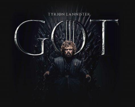 trò chơi vương quyên tyrion lannister ngồi trên ngai sắt của trò chơi vường quyền