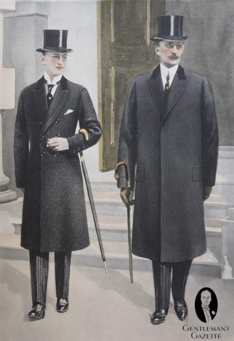 tranh họa 2 quý ông hoàn hảonăm 1913