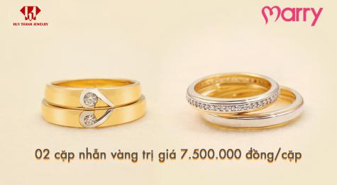 triển lãm cưới Marry Wedding Day - quà ưu đãi dành cho các cặp đôi