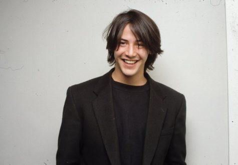 Diễn viên Keanu Reeves-Keanu Reeves đang cười