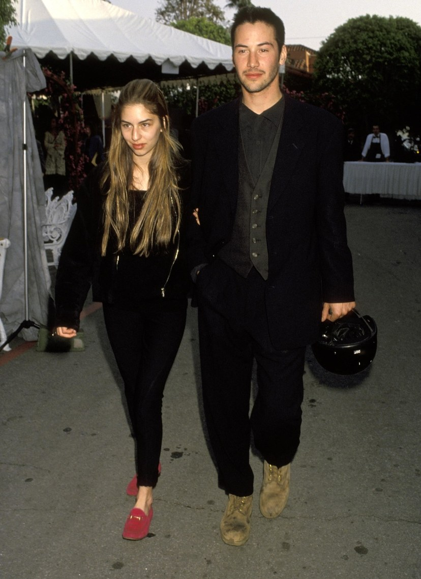 diễn viên Keanu Reeves-Keanu Reeves và Sofia Coppola