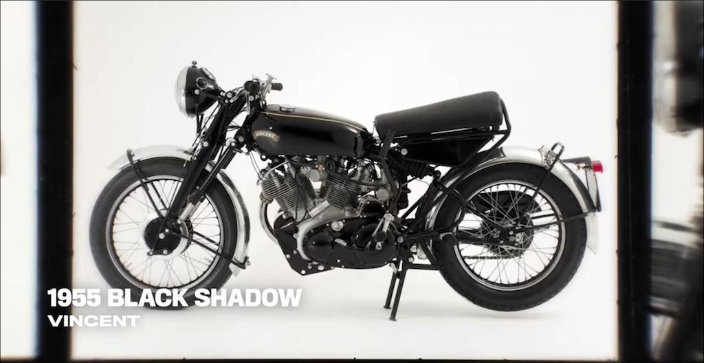 Chiếc xe mô tô black shadow của diễn viên Keanu Reeves
