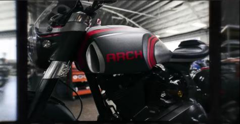 chiếc xe moto 2019 1S diễn viên Keanu Reeves 2
