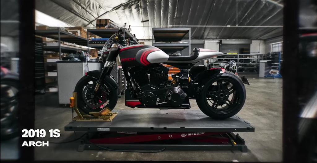 chiếc xe moto 2019 1S diễn viên Keanu Reeves