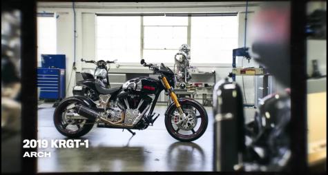 chiếc xe moto 2019 KGRT 1 diễn viên Keanu Reeves