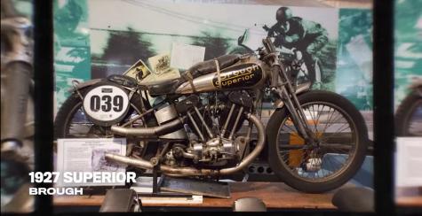 chiếc xe moto 1927 Superior diễn viên Keanu Reeves