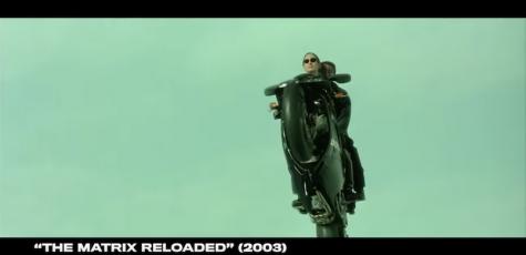 diễn viên Keanu Reeves và chiếc xe 998 matrix reloaded edition 2