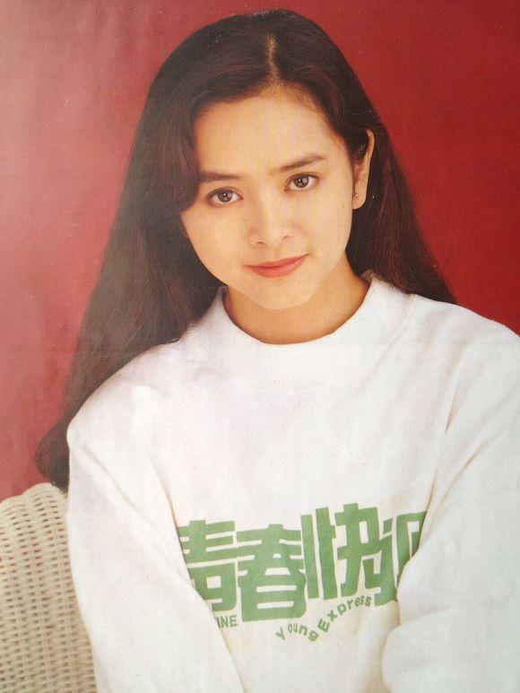 mỹ nhân Hong Kong-Diệp Uẩn Nghi mặc áo trắng